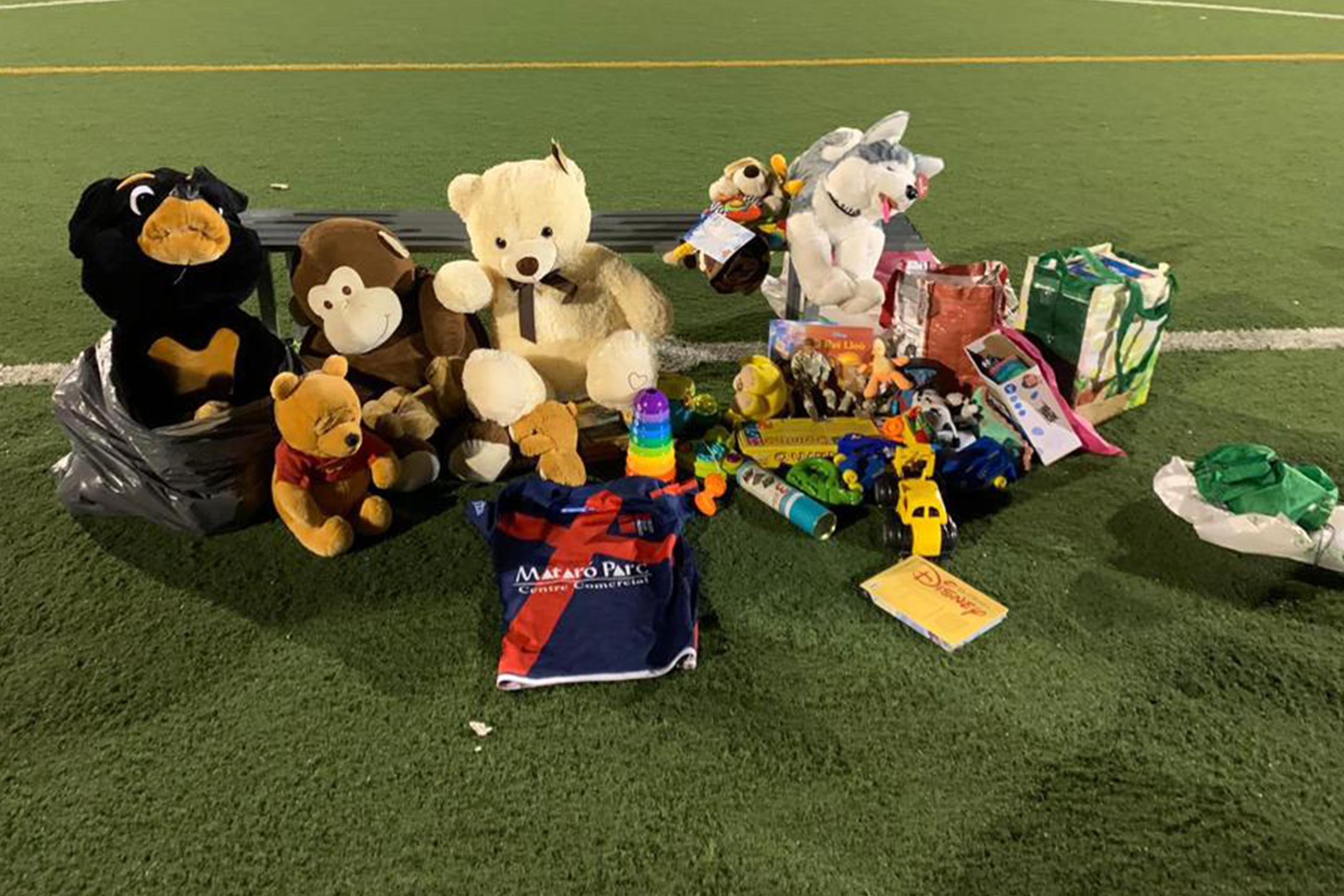 Donació de joguines